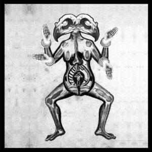 MOOM / GOD'S AMERICA split 7″EP