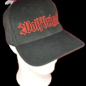 WOLFBRIGADE – logo výšivka / embroidered logo (red lines)