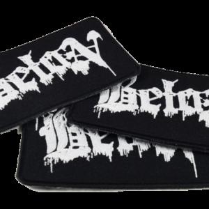 BETON – vyšívaná nášivka / embroidered patch