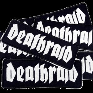 DEATHRAID – vyšívaná nášivka / embroidered patch