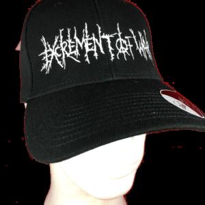 EXCREMENT OF WAR – logo výšivka / embroidered logo
