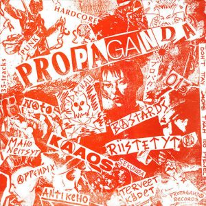 V/A PROPAGANDA – Russia Bombs Finland comp. LP
