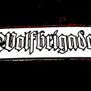 WOLFBRIGADE – vyšívaná nášivka / embroidered patch
