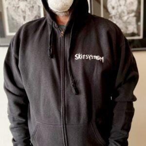 SKITSYSTEM – mikina se zipem (vyšívané logo)