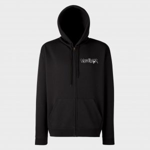 WARCOLLAPSE – zipper hoodie (embroidered logo)