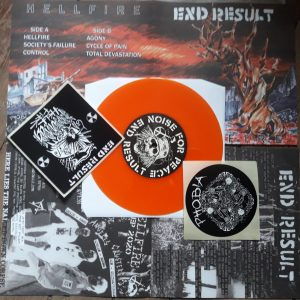 PR 205 END RESULT – Hellfire 7″EP (limited edition)