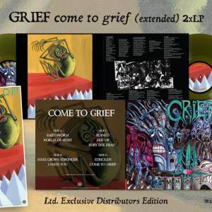 GRIEF – Come to grief (extended) 2xLP (PREORDER)