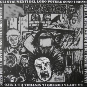 DISARM / BORNSICK split 7″EP