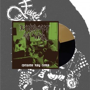 PR 209 EXCREMENT OF WAR – Cathode Ray Coma LP (repress – limited edition)