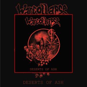 PR 172 WARCOLLAPSE – Deserts Of Ash LP (2021 repress)